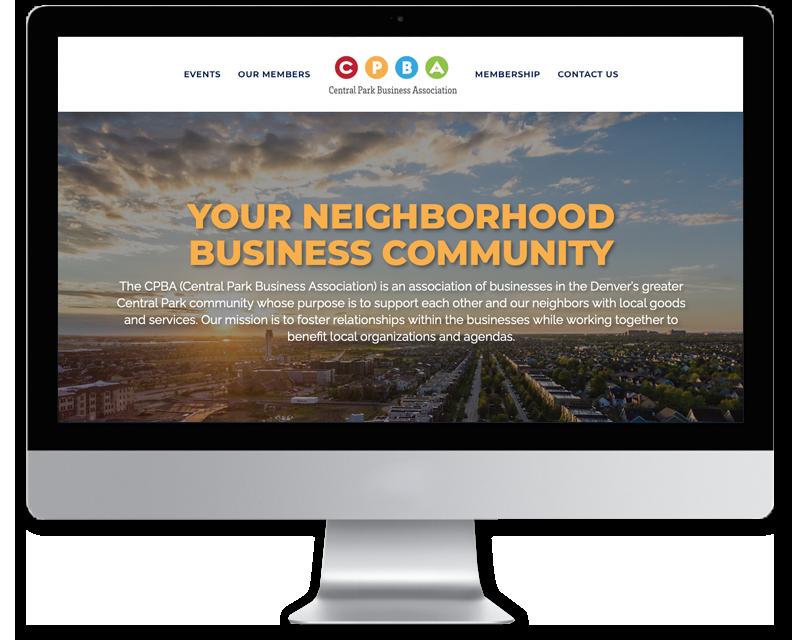 CPBA • website design
