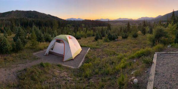 Camping at Pearl Lake State Park