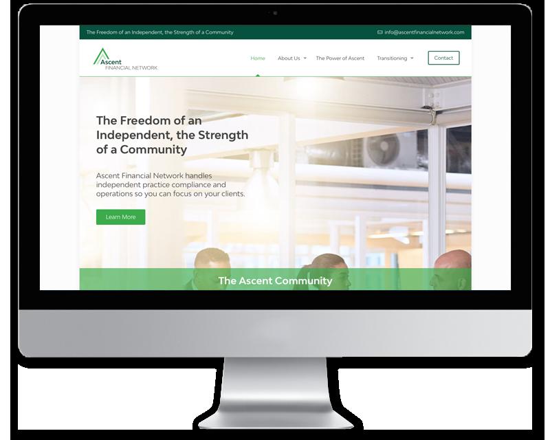 Ascent Financial Network • website design