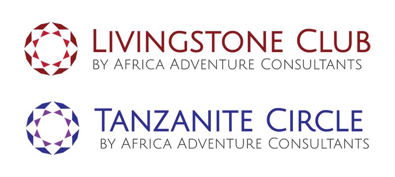 Livingstone Club + Tanzanite Circle • Logo Design