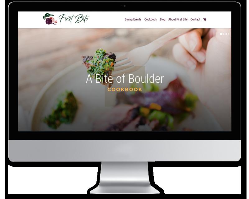 First Bite • website design