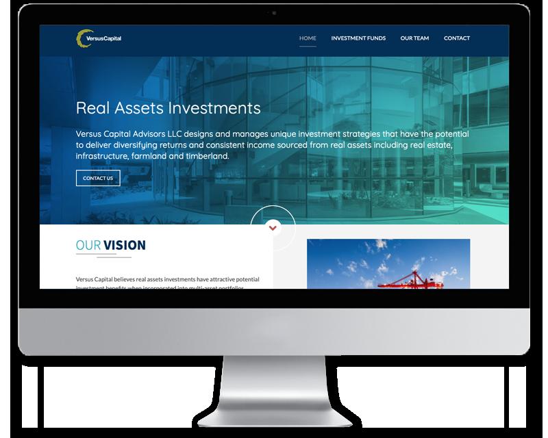 Versus Capital • Website Design