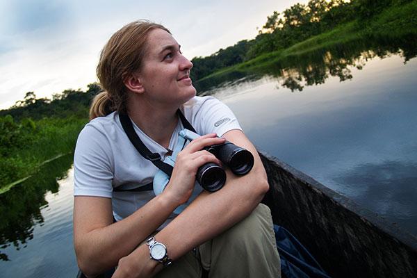 Hailey in the Amazon (Ecuador)